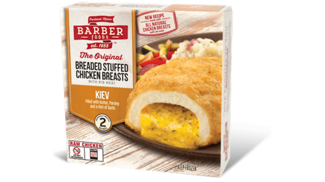 Barber Foods Recalls Stuffed Chicken Due To Possible Salmonella