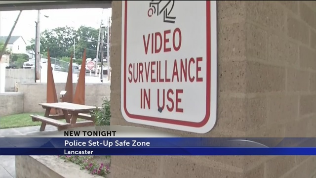 City of Lancaster creates safe zone near police station