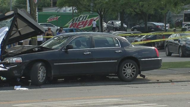 Woman Dies After Car Crashes Into Cota Bus Stop