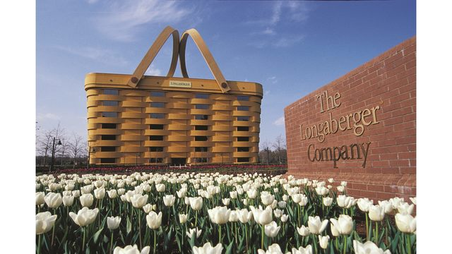 Longaberger Employees Leaving Iconic Basket Building In Newark