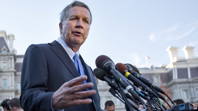 Gov. Kasich says there is 'no animosity' with Pres.Trump