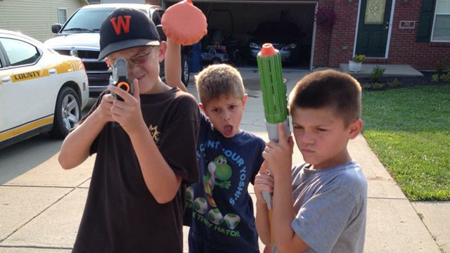 3T Nerf War : Squad Alpha Special Police Nerf guns Fight Attacks of Bandits