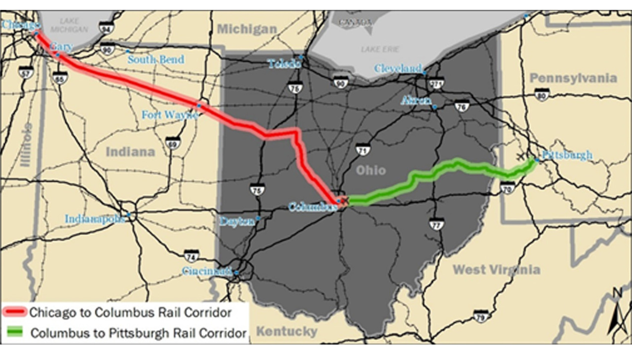 Chicago-Columbus-Pittsburgh Hyperloop project selected as one of 10 ...