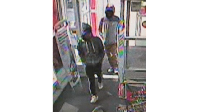 robbers tell customers to be cool as they rob pharmacy