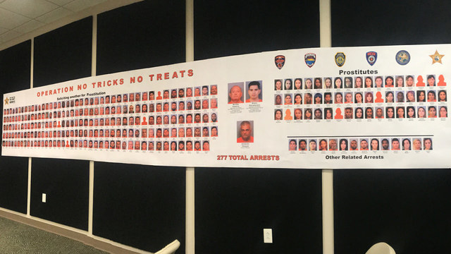 Doctors and cops among 277 arrested in human trafficking, online prostitution sting in Florida