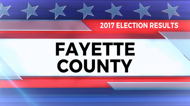 2017 Election Results for Fayette County