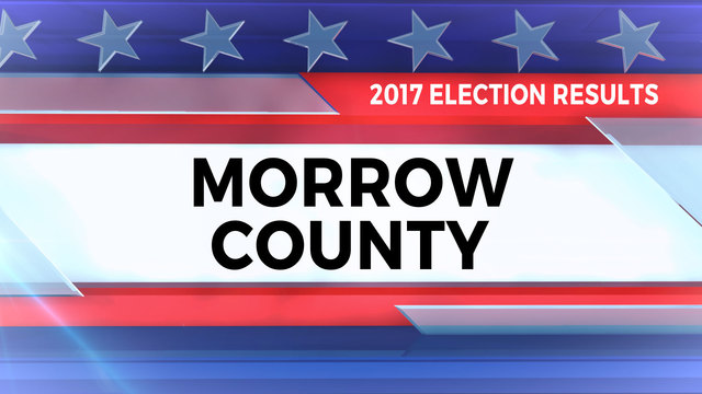 2017 Election Results for Morrow County