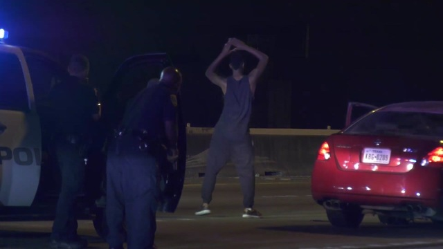 Dancing man bitten by K9 after police chase in Houston, Texas
