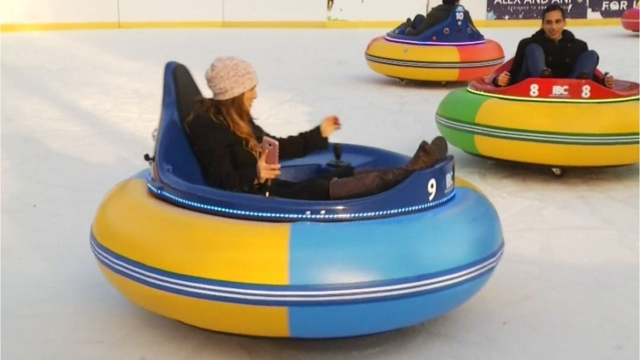 New England City Puts Bumper Cars On Ice