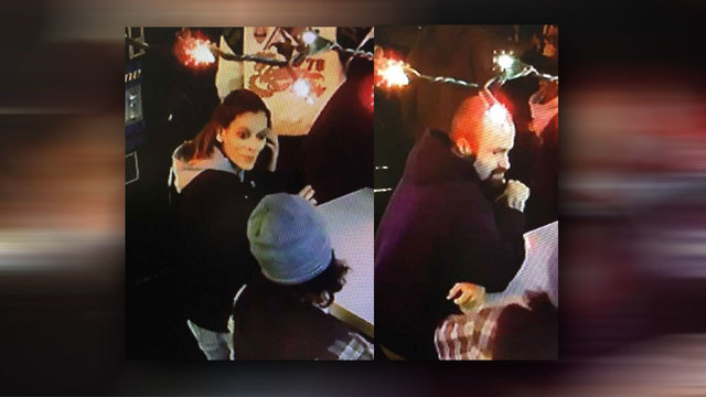 Police looking for man and woman accused of robbing two men at gunpoint outside Merion Village bar
