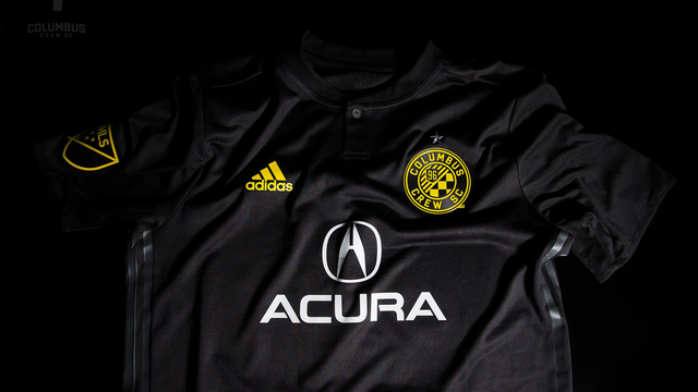 FIRST LOOK: The Columbus Crew's new all-black kit for 2018