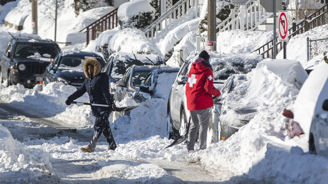 East Coast digging out after massive winter storm