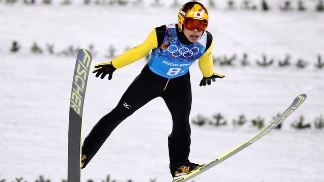 Noriaki Kasai makes record 8th Winter Olympics