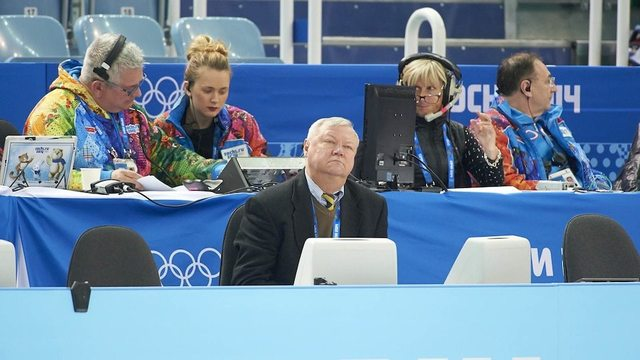 Figure skating from the judges' perspective
