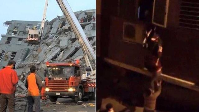 Hundreds Believed Trapped After Magnitude-6.4 Quake Strikes Taiwan