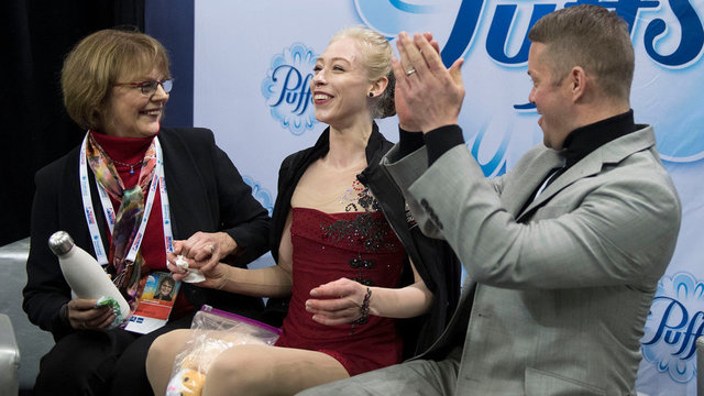 U.S. skater Bradie Tennell's very lonnng journey to Pyeongchang
