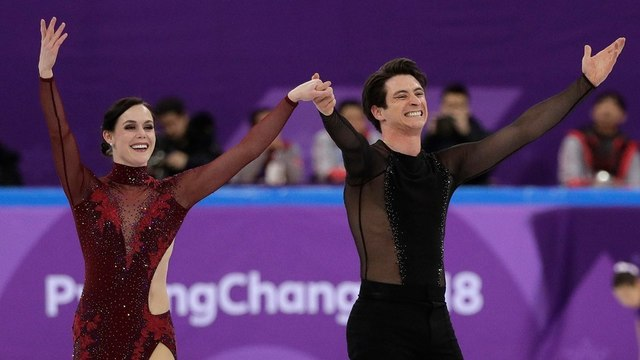 After winning team gold, Canada's Tessa Virtue and Scott Moir join club of most-decorated figure skaters