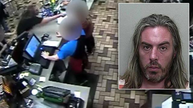 Cops: Florida man assaults gas station cashier with hot dogs after being refused beer sale
