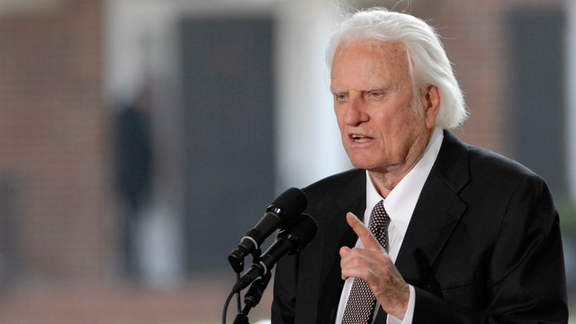 Pres. Trump to attend Rev. Billy Graham's funeral on Friday