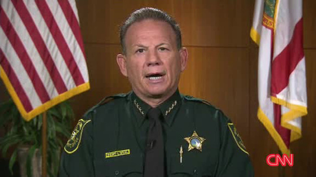 Florida sheriff says he will not resign, insists only 1 deputy was on scene during school shooting