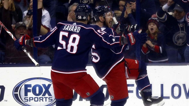 Blue Jackets score early and often, beat Capitals 5-1