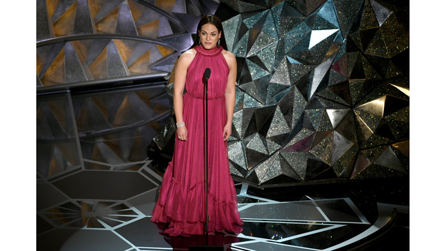 First openly trans presenter Daniela Vega makes history at 2018 Oscars