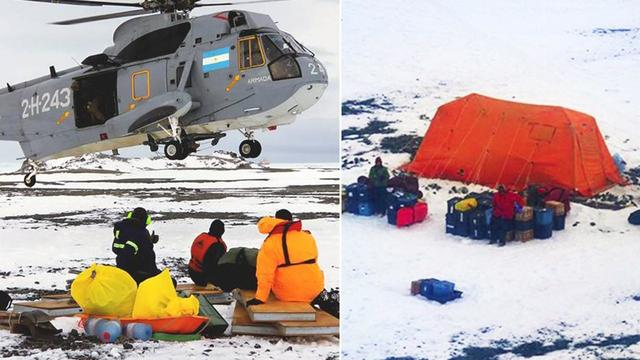 Argentine Navy Rescues US Scientists Stranded in Antarctica