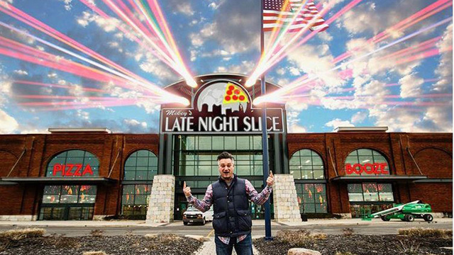 Late Night Slice 'announces' new 80,000-foot pizza complex at Easton