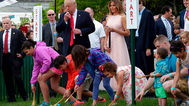 Nearly 30,000 expected at annual White House Easter Egg Roll