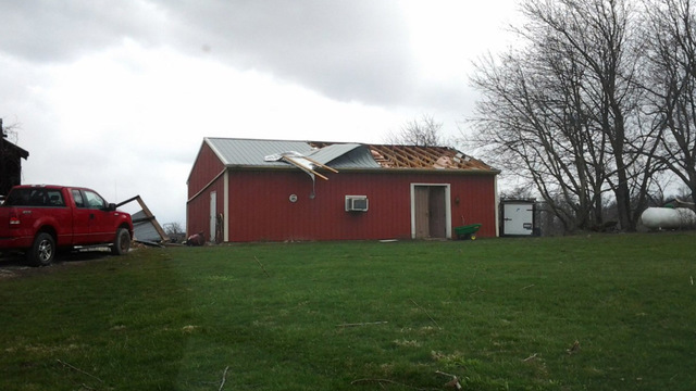 Weather Service Confirms Tornado in Fayette County