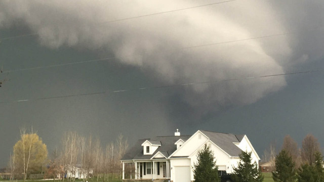 Videos and photos show storms move across Central Ohio