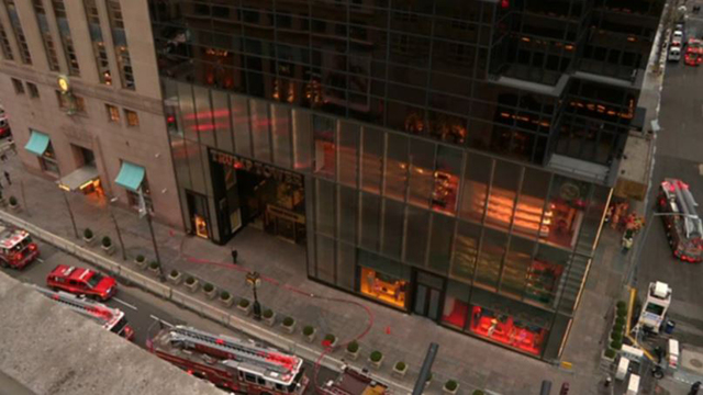 One dead after fire at Trump Tower