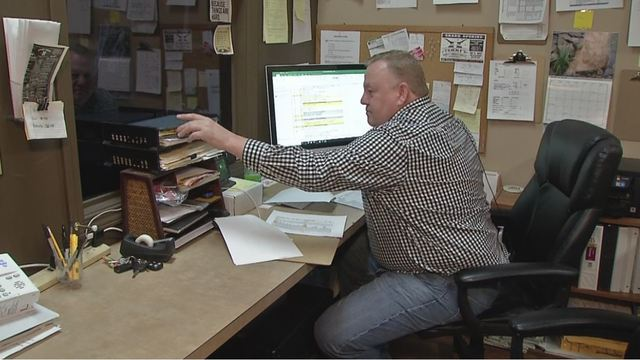 Grove City man says book keeper has delayed his taxes for years