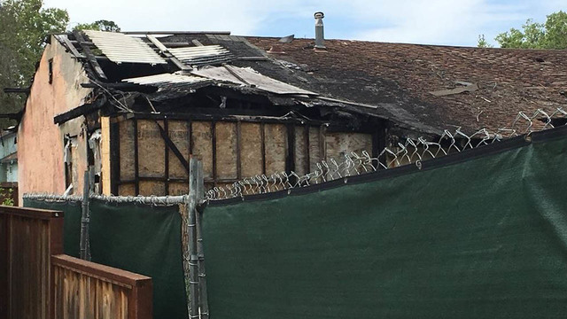 Burned-out home in San Jose neighborhood listed for $800,000