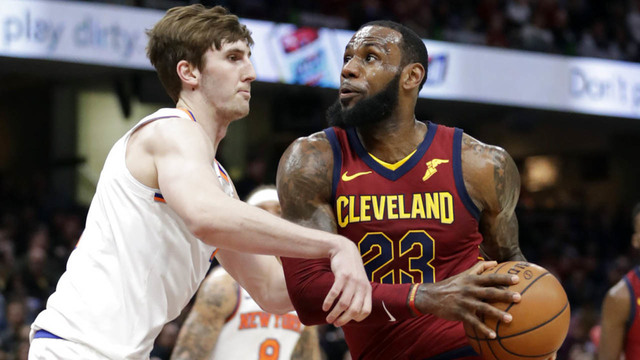 LeBron plays all 82 games for first time in career