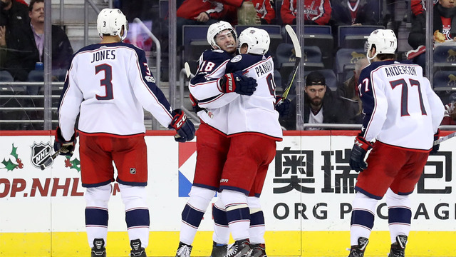 Columbus Blue Jackets Playoff Experience Pales in Comparison to Caps