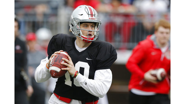 Sold Out Spring Game Offers First Look At 2018 Buckeyes