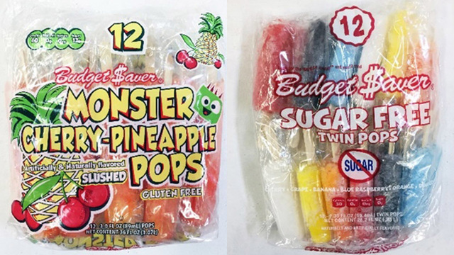 Ice pops recalled due to Listeria risk