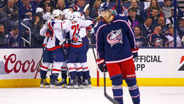 Blue Jackets eliminated from Playoffs, fall 6-3 to Capitals
