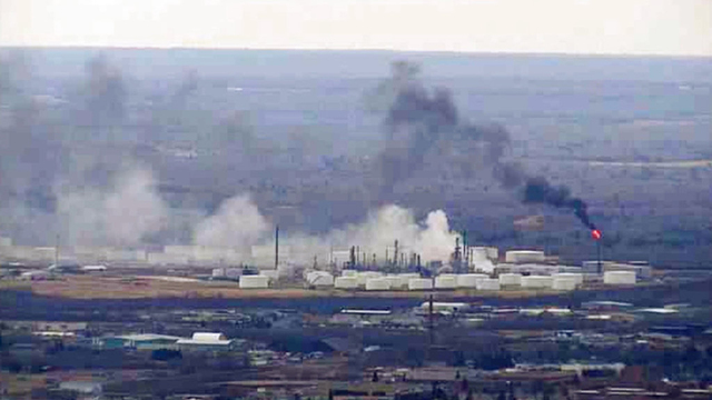Explosion rocks Wisconsin refinery, at least 11 hurt