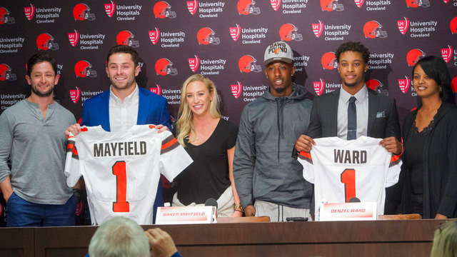 Browns enter third day of draft with five picks