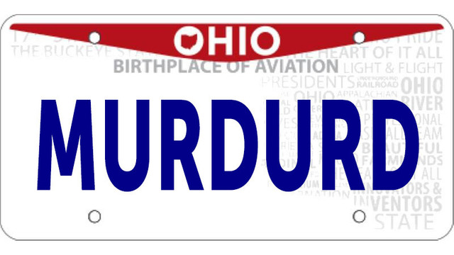 Ohio releases latest list of banned license plates