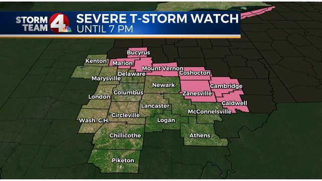 Spring storms raises our severe weather threat Friday afternoon and evening
