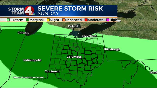 Several storm chances starting this Mother's Day weekend