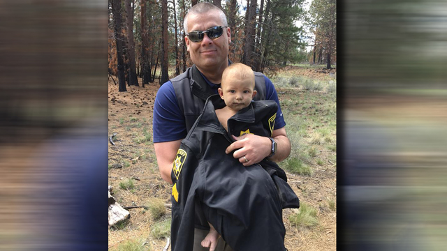 Missing 1-year-old abandoned by father found naked, alone in forest deputies say