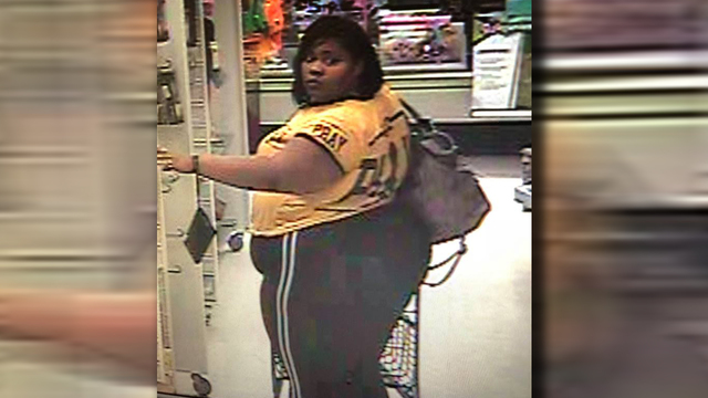Reynoldsburg police searching for Marshall's theft suspect
