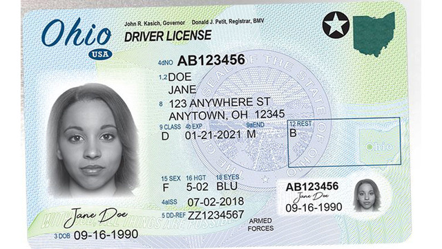 Ohio introduces new look for driver licenses, ID cards