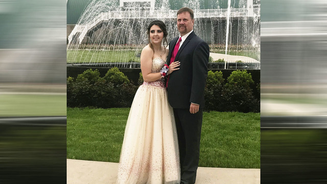 Dad takes late son's girlfriend to prom after fatal crash