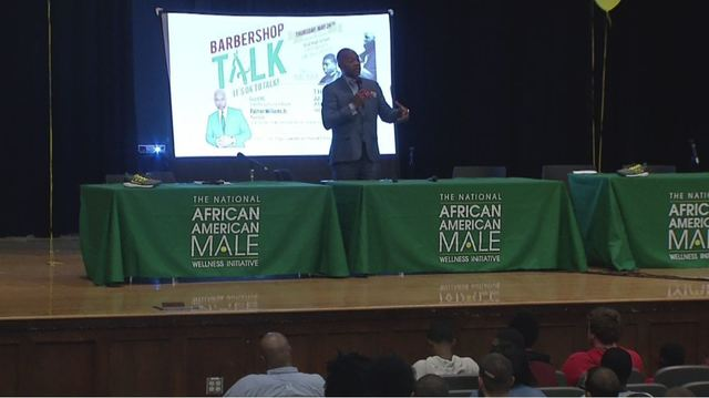 Barbershop Talk Event Gives Men An Outlet To Discuss Physical