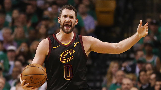 Kevin Love cleared to play in Game 1 against Warriors
